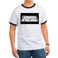 The Phantom of the Opera 1925 Ringer T-shirt