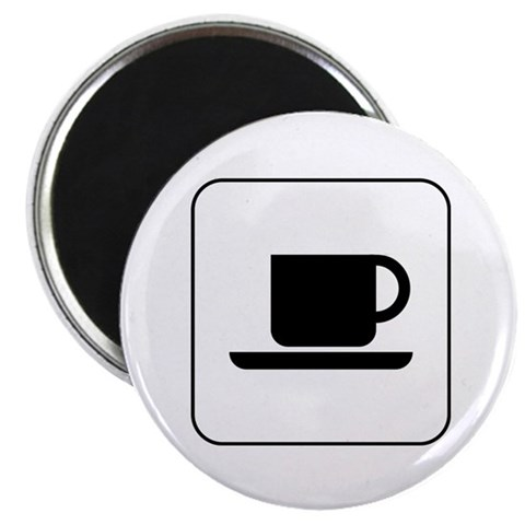 Beverages Ahead 2.25quot; Magnet 100 pack Funny 2.25 Magnet 100 pack by CafePress