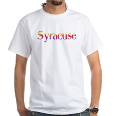 Syracuse White T-Shirt