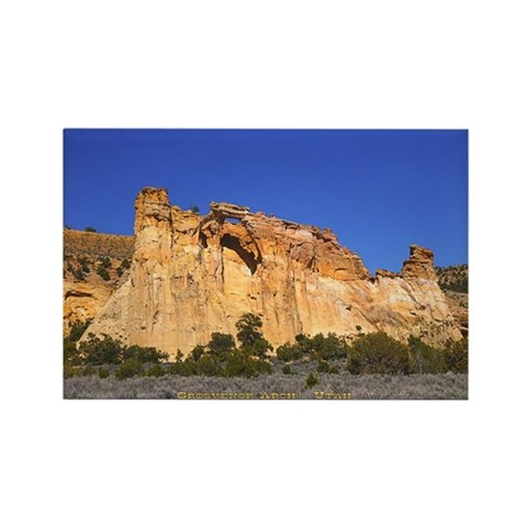 - Grosvenor Arch  31 Rock Rectangle Magnet by CafePress