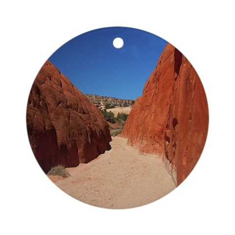 : DG 70 Rock Round Ornament by CafePress