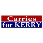 Carries for Kerry Sticker (Bumper)