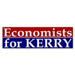 Economists for Kerry Sticker (Bumper)