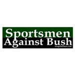 Sportsmen Against Bush (Sticker)