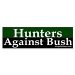 Hunters Against Bush (bumper sticker)