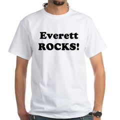 Everett Rocks! Premium White T-Shirt