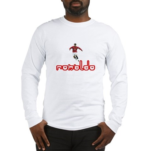 Ronaldo 7 Legends Long Sleeve T-Shirt by CafePress