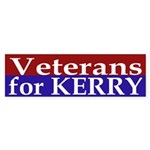 Veterans for Kerry (bumper sticker)