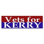 Vets for Kerry (Bumper Sticker)