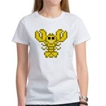 8bit lobster yellow Tee
