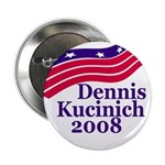 Dennis Kucinich 2008 Button