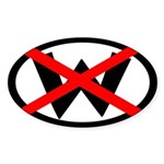 X W: Not Dubya (bumper sticker)