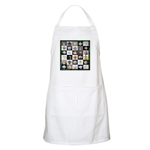 30 Teapots BBQ  Hobbies Apron by CafePress