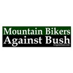 Mountain Bikers Against Bush (sticker)