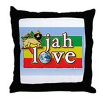 jahlove Throw Pillow