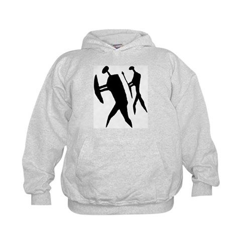 AbOriginalz Ancient Warriors  Native american Kids Hoodie by CafePress