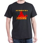 MY DADDY IS A FIREMAN SHIRT BIB BABY CLOTHES FIREF