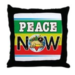 rastapeace Throw Pillow