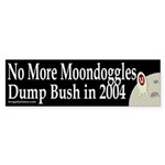 No More Moondoggles Sticker (Bumper)