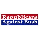 Republicans Against Bush Bumper Sticker
