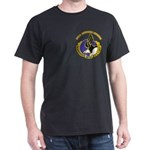DUI - 101st Airborne Division with Text Dark T-Shi
