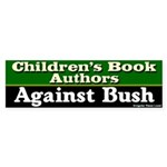 Children's Authors Against Bush Sticker