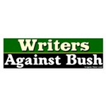 Writers Against Bush Bumper Sticker