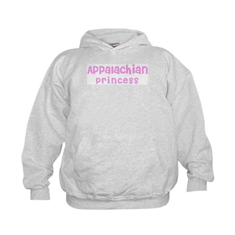 Appalachian Princess  Ethnicity Kids Hoodie by CafePress