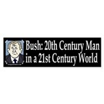 Bush: 20th Century Man Sticker (Bumper)
