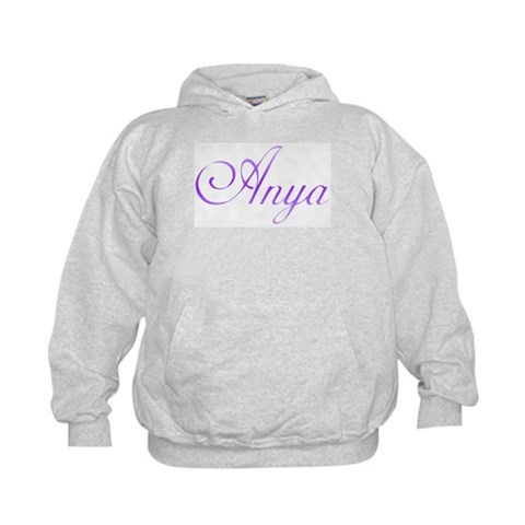 Anya  Unique Kids Hoodie by CafePress