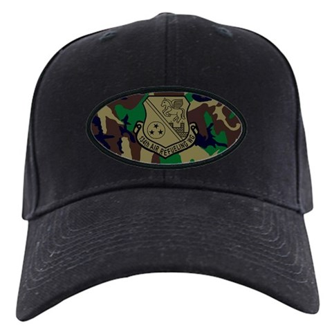 134th Air Refueling Wing  3 Military Black Cap by CafePress
