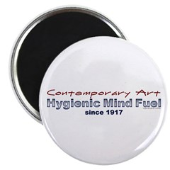 Contemporary Art, Hygienic Mind Fuel since 1917 Button