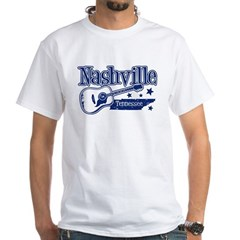 Nashville Tennessee White T-Shirt