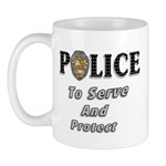Serve and Protect Mug