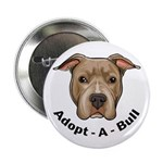 "Adopt-A-Bull 1 2.25"" Button (100 pack)"