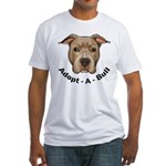 Adopt-A-Bull 1 Fitted T-Shirt