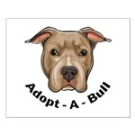 Adopt-A-Bull 1 Small Poster