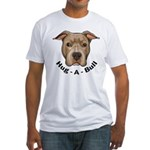 Hug-A-Bull 1 Fitted T-Shirt