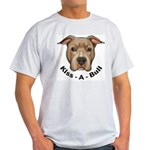 Kiss-A-Bull 1 Ash Grey T-Shirt