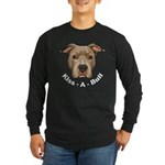 Kiss-A-Bull 1 Long Sleeve Dark T-Shirt