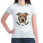 Kiss-A-Bull 1 Jr. Ringer T-Shirt