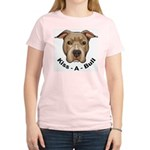 Kiss-A-Bull 1 Women's Pink T-Shirt
