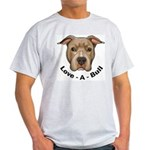 Love-A-Bull 1 Ash Grey T-Shirt