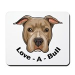 Love-A-Bull 1 Mousepad