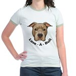 Love-A-Bull 1 Jr. Ringer T-Shirt
