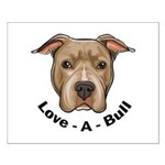 Love-A-Bull 1 Small Poster