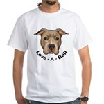 Love-A-Bull 1 White T-Shirt