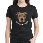 Love-A-Bull 1 Women's Dark T-Shirt