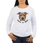 Love-A-Bull 1 Women's Long Sleeve T-Shirt