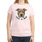 Love-A-Bull 1 Women's Pink T-Shirt